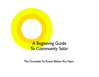 A guide to community solar