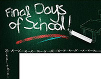 Final Day of School Blogger Template