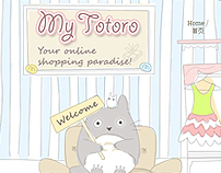 My Totoro - Custom Design Blogger Tempalte