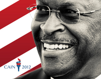 Herman Cain Rebrand/Web Design