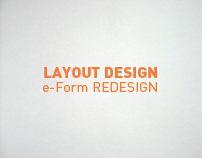 + Layout Design: e-Forms