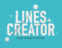 Lines Cretaor - a script for after effects