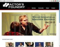 Acting School Website, YouTube & SEO Campaign