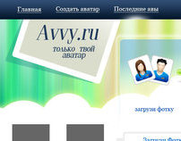 Service of avatars creation for social projects