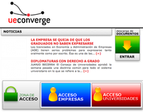 UE Converge - University Enterprise