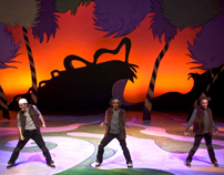 Scenic Design for Seussical the Musical