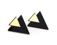 Black Cheeuh Earring