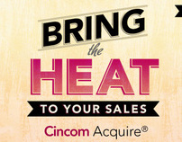 Cincom Acquire Microsite and Packaging: Bring the Heat