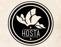 Hosta logo development