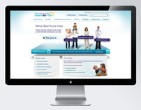 Boston Medical Center HealthNet Plan Website Redesign