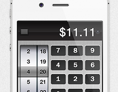 iOS Tip Calculator App