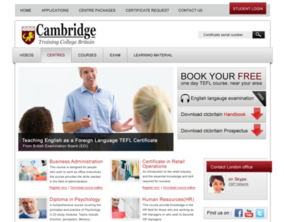 Cambridge training centre