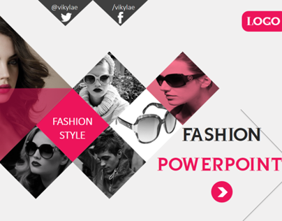 Fashion Style Powerpoint Presentation Template