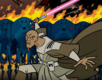 Star Wars: The Clone Wars Animated Posters