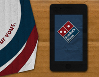 Student Work: Dominos Pizza app Advertising