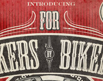 For Bikers By Bikers Poster