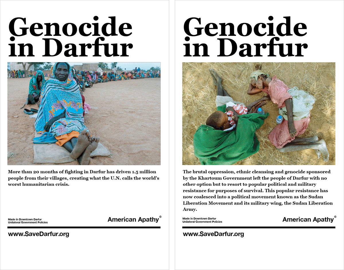 SaveDarfur.org – Senior Project