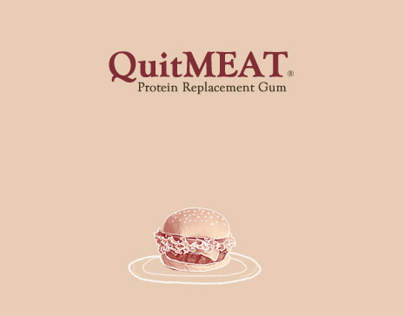 QuitMeat: Protein Replacement Gum