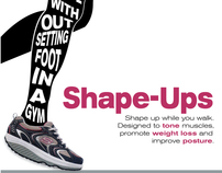 Shape Ups, Ad Redesign