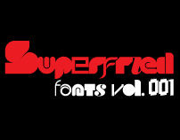 Superfried fonts vol. 001