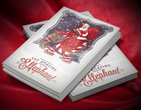 Elfephant Christmas Card