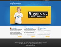 Mendez Foundation Website (Redesign)