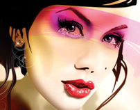Fashion illustration *airbrush, vectors*
