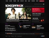 School of Rock Websites