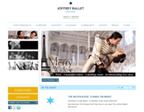 Joffrey Ballet Website