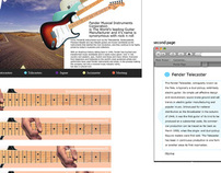 Fender Website