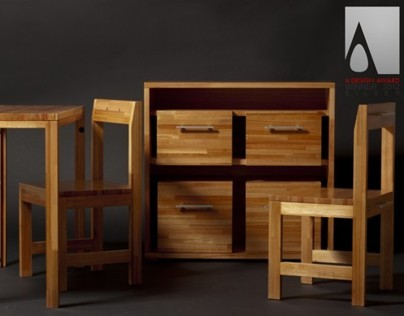 Ludovico drawer (transformable furniture)