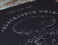 Blacktooth Grin / Screenprint