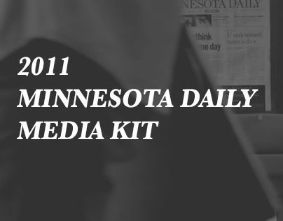 2010 - 2011 Minnesota Daily Media Kit
