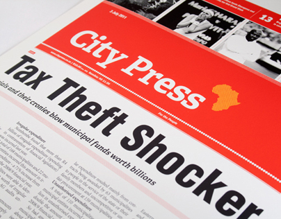 City Press Editorial Redesign