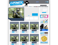 CUPONATIC - CORPORATIVE WEB