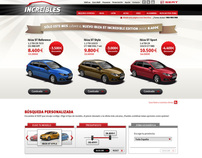 LOS INCREÍBLES DE SEAT // E-COMMERCE WEBSITE