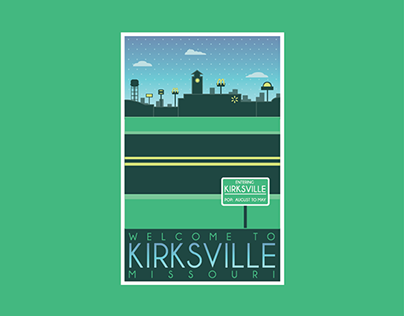 Kirksville Tourism Posters