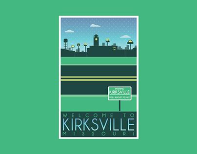 Kirksville Tourism Posters