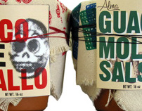 Mexican Condiment Packaging