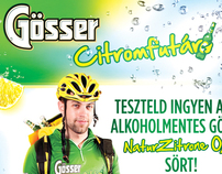 Gösser Citromfutár - Lemon Courier