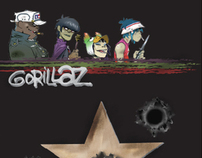Gorillaz DVD Cover, Outside