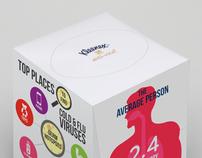 Informative Kleenex Boxes