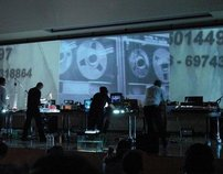 Terminal Accidents_live cinema performance/The Erasers