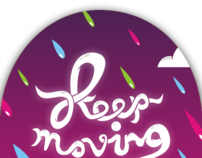 keep moving (on skate)