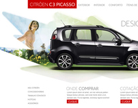 Citroen C3 Picasso Hotsite proposal