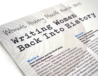 Writing Women Back Into History