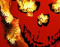 Ghost Rider Spirit of Vengeance Concept Poster