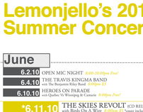Lemonjello's Concert Promotion