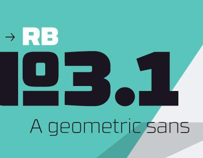 RBNo3.1 Typefamily