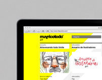 muyricotodo* | website design